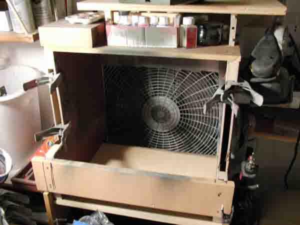 Spray booth fan motors advice please hobbytalk for Paint booth fan motor